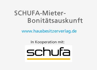 Schufa Mieter-Bonitätsauskunft